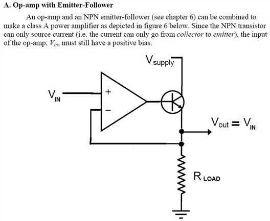 OpAmp Voltage Follower/Regulator-布布扣移动版-m bubuko com