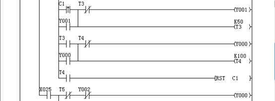 SW2关闭时,红绿灯轮流自动亮比较容易实现,但是把SW2打开(即进入夜间模式)的梯形图加入后,仿真时红灯和绿灯即使得电也不亮。 我猜测原因是梯形图控制的一一对应原则在加入夜间模式的梯形图后出现了问题,我暂时没找出具体问题所在,没有想到较好的改进方案,把仿真失败的梯形图放上,希望可以获得帮助和建议。
