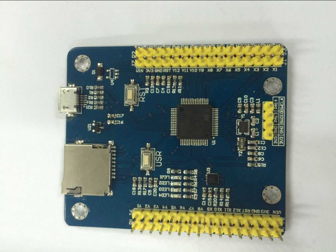 tpyboard v102:能跑python的stm32开发板
