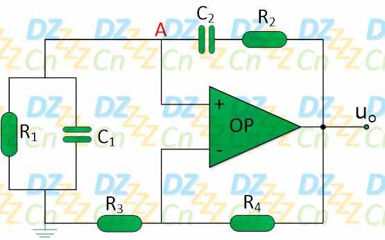 是一种适于产生正弦波信号的振荡电路之一,此电路振荡稳定且输出波形