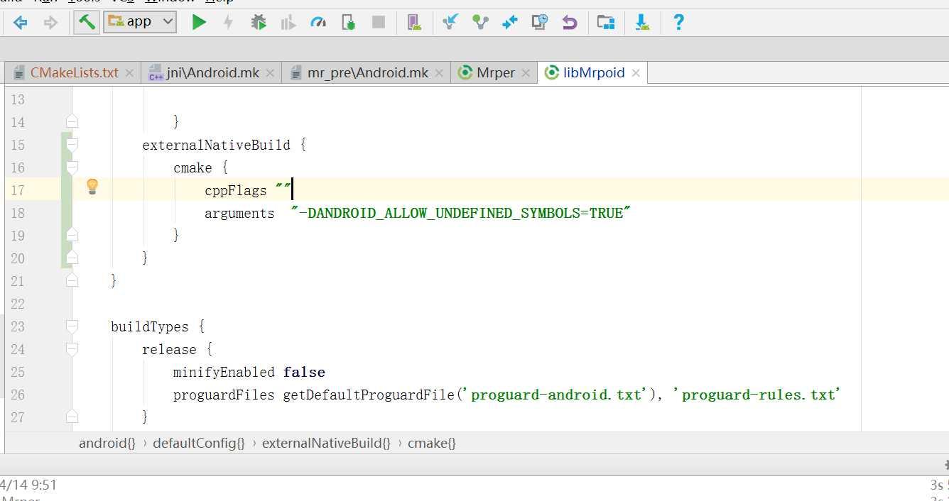 安卓ndk 忽略error: undefined reference to '找不到符號- IT閱讀