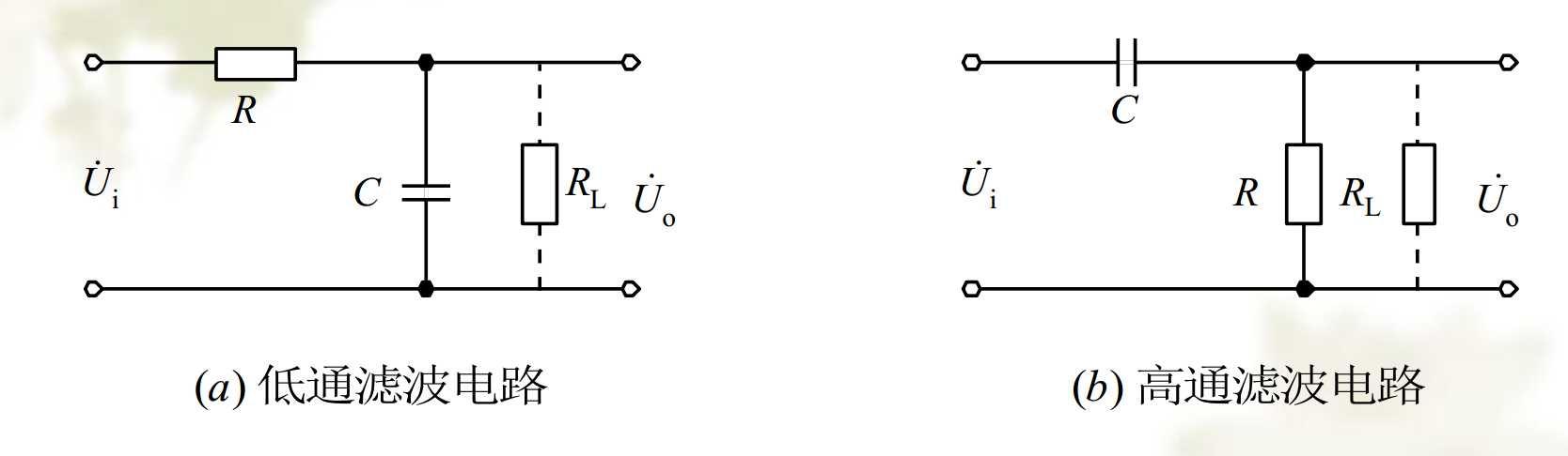 九阶短路枝节高通滤波器电路图