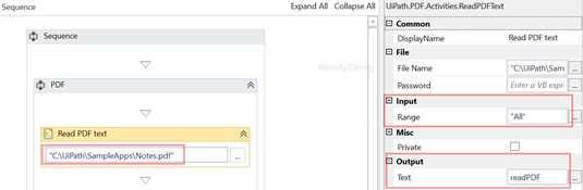 UIPath入門系列十之PDF文檔操作- IT閱讀