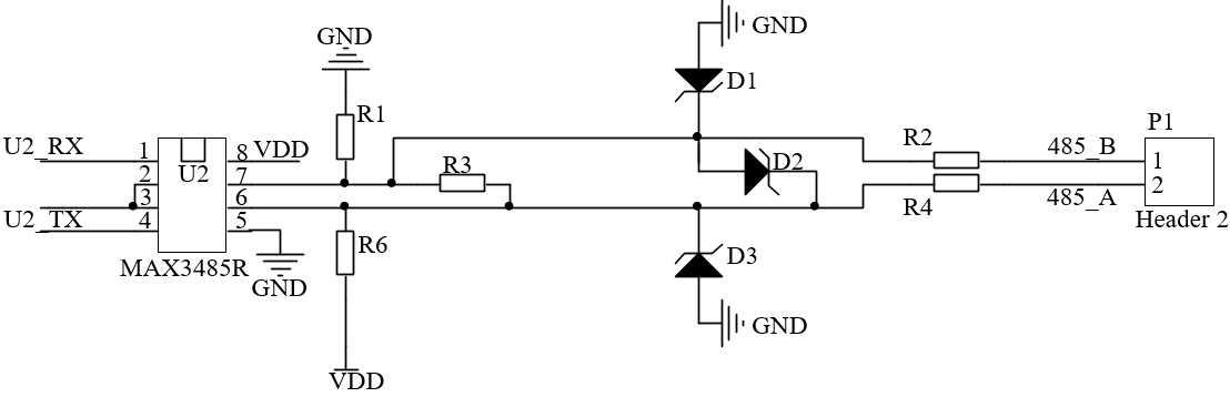rs485通信电路