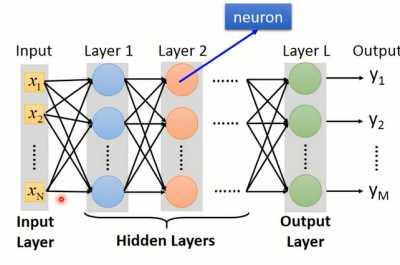 全连接前馈神经网络结构如图1-2所示.