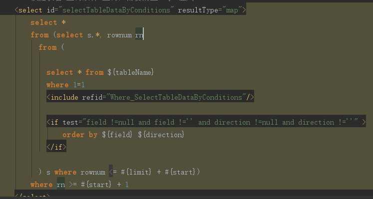 解决:oracle+myBatis ResultMap 类型为map 时返回结果中存在