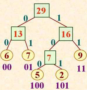 数据结构——第二章树和森林:04哈夫曼树与哈夫曼编码