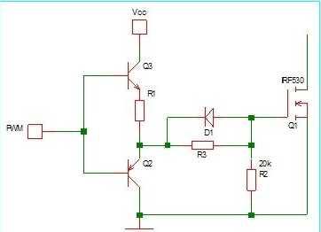 分析mos管的门极驱动电路