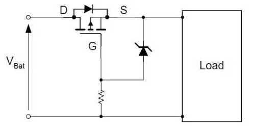 浅析mos管的主要电路逻辑